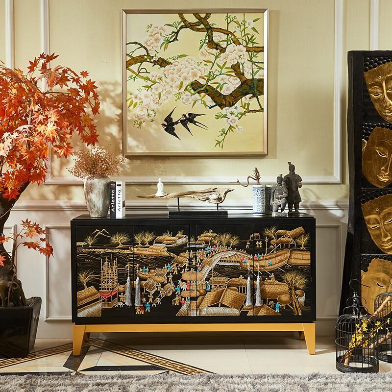 佛山市澜庭雅叙家具有限公司丨定制电视柜该怎样设计