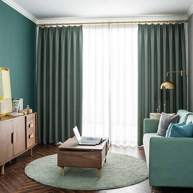 亨丽家纺:纯色系窗帘布艺怎么选择