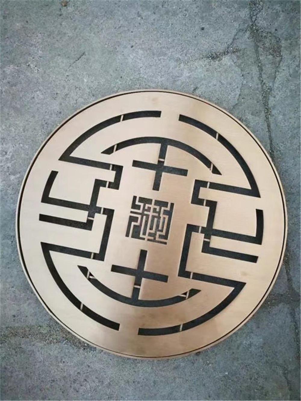 简当井盖丨不锈钢井盖比其他井盖更加坚固
