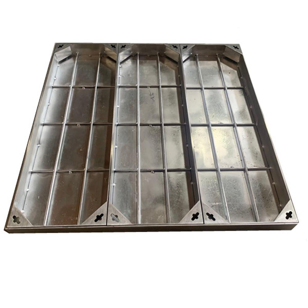 简当井盖丨不锈钢井盖在我们生活中应用越来越广泛