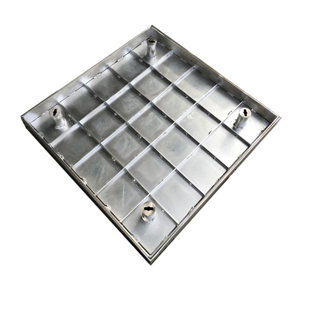 简当井盖丨依据井盖不同部位运用不同的增强材料