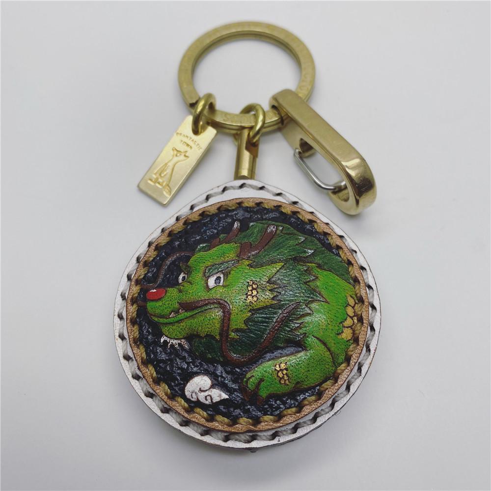 内蒙古倔强文化创意有限公司怪诞小镇钥匙扣定制价格高吗