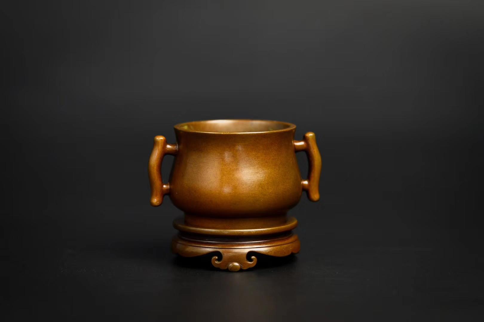 泰山家居艺术品泰山青云艺术品(上海)有限公司:铜香炉保养方法