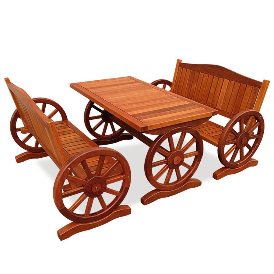 上海福巨木业有限公司孚匠实木家具:防腐木桌椅的小知识